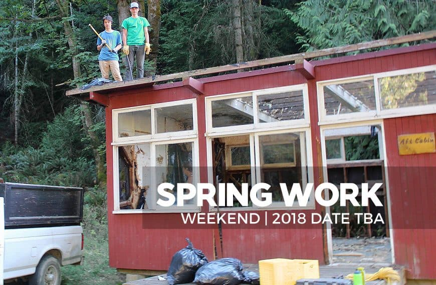 Spring Work Weekend